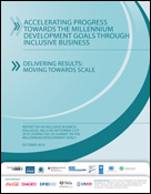 Inclusive Business and the Millennium Development Goals: Summary of the New York MDG Summit Dialogue