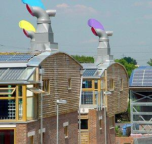 Beddington Zero Energy Development (BedZed) - Image Provided by ARUP